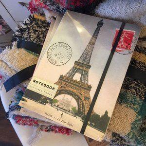 Cavallini Paris Eiffel Tower Lined Notebook Large
